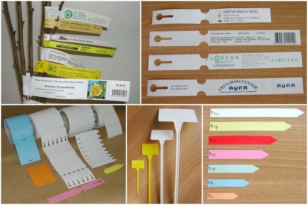 etikete in tablice